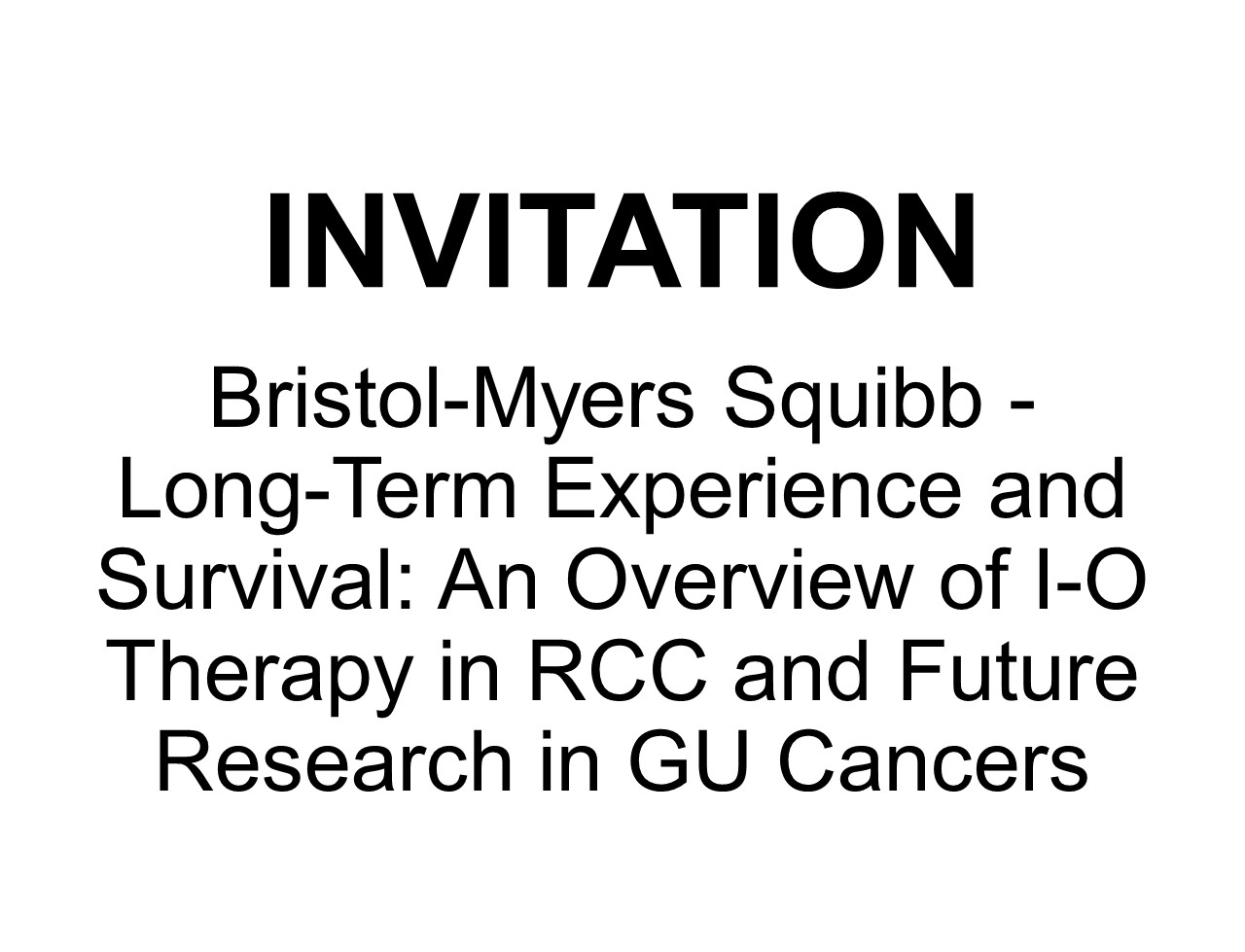 Bristol-Myers Squibb: Long-Term Experience