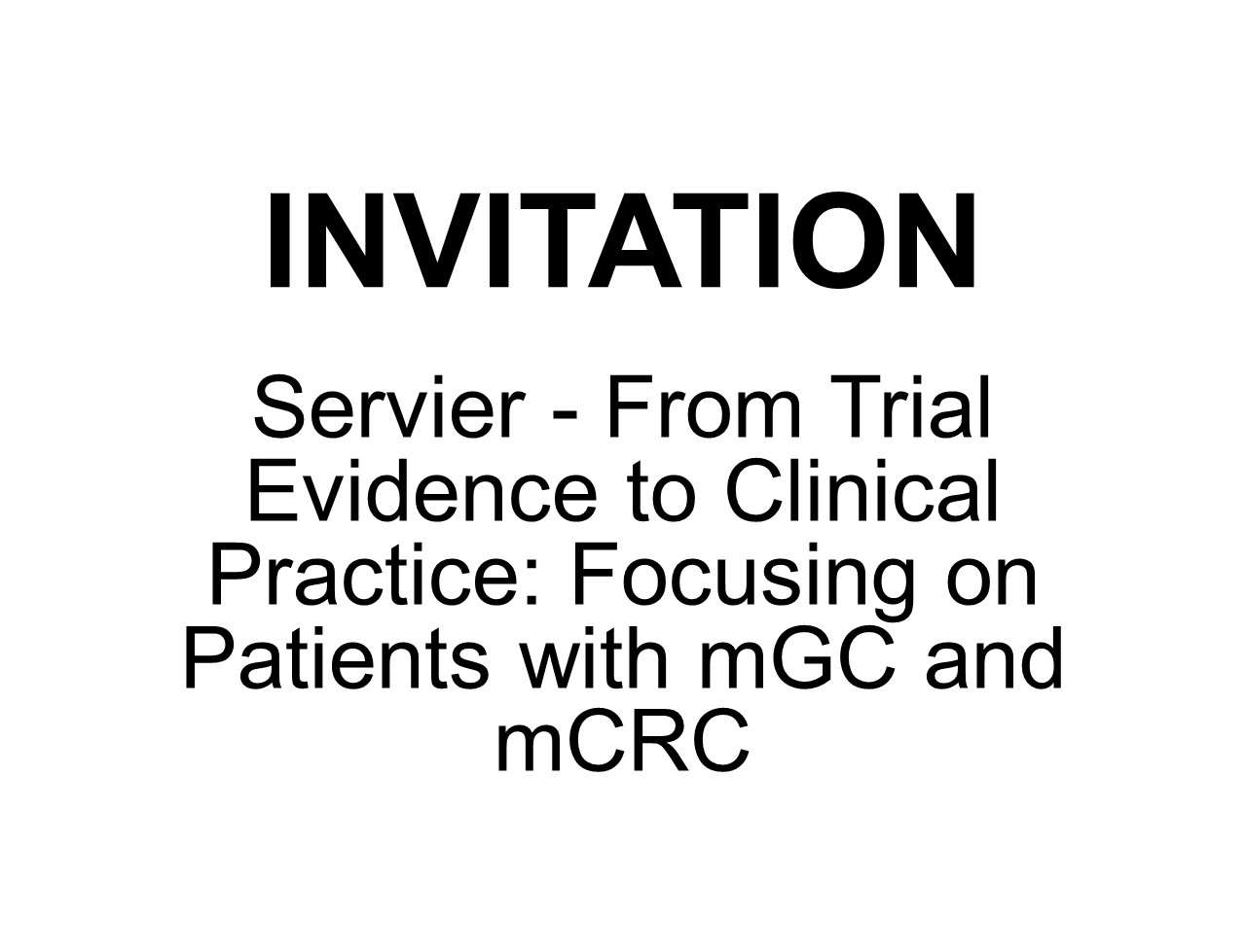 Servier: From Trial Evidence to Clinical Practice